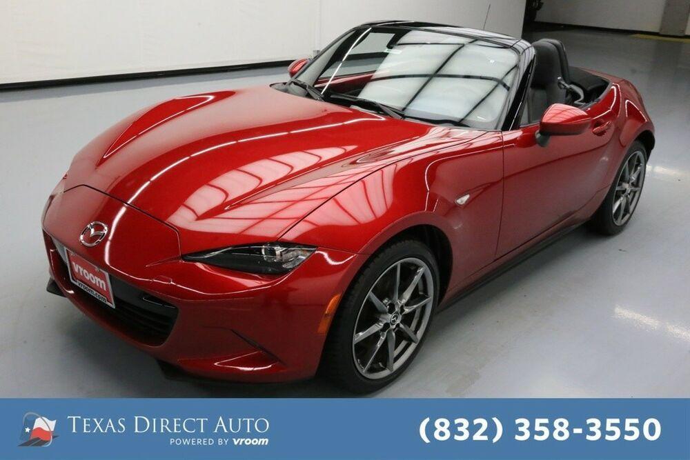 For Sale 2016 Mazda MX5 Miata Grand Touring Texas Direct