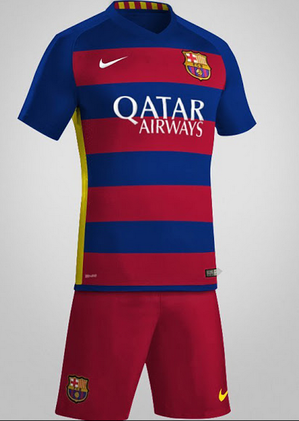 622fc9b664636 camiseta F. C. barcelona 2016