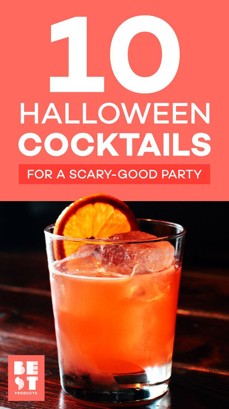 people will be dying for these scary-good halloween cocktails | best