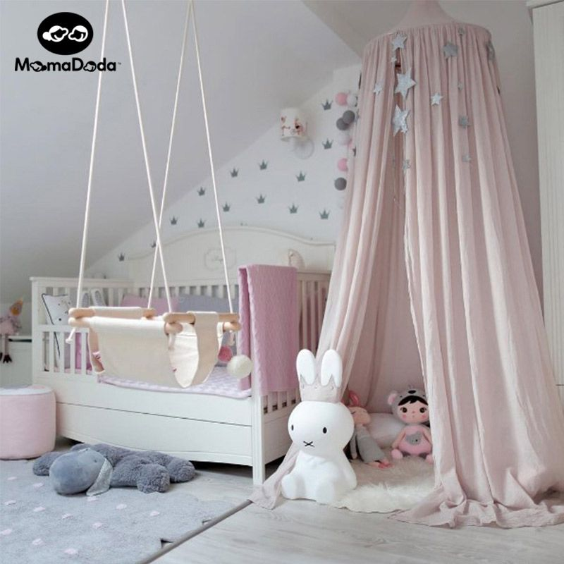 INS Hot Baby Portable Crib Curtain Mosquito Net Tent Infant Netting Kids Bed Accessories Folding Canopies & INS Hot Baby Portable Crib Curtain Mosquito Net Tent Infant ...