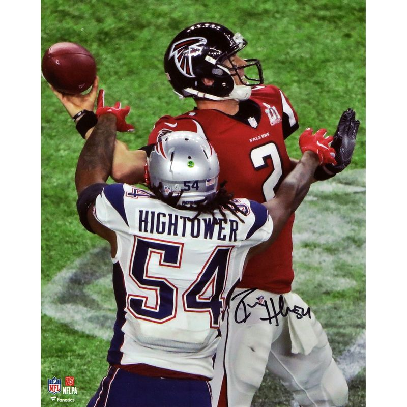 Dont a Hightower New England Patriots Fanatics Authentic Autographed 8