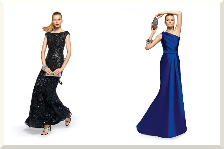 Bridesmaids Dresses for the Fashion Forward Wedding Party Pronovias 2013 20. I like the one on the left