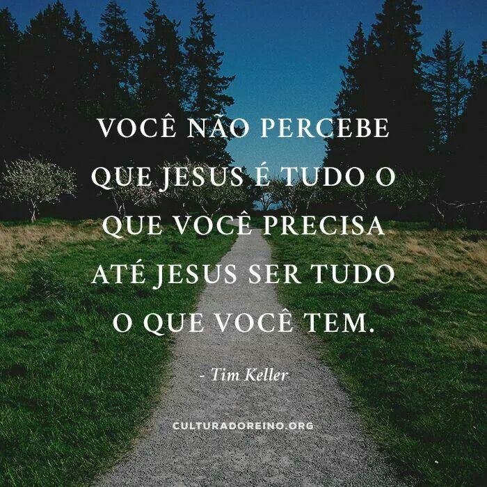 JESUS é tudo o que eu preciso | Frases cristãs, Frases sobre deus, Frases  motivacionais