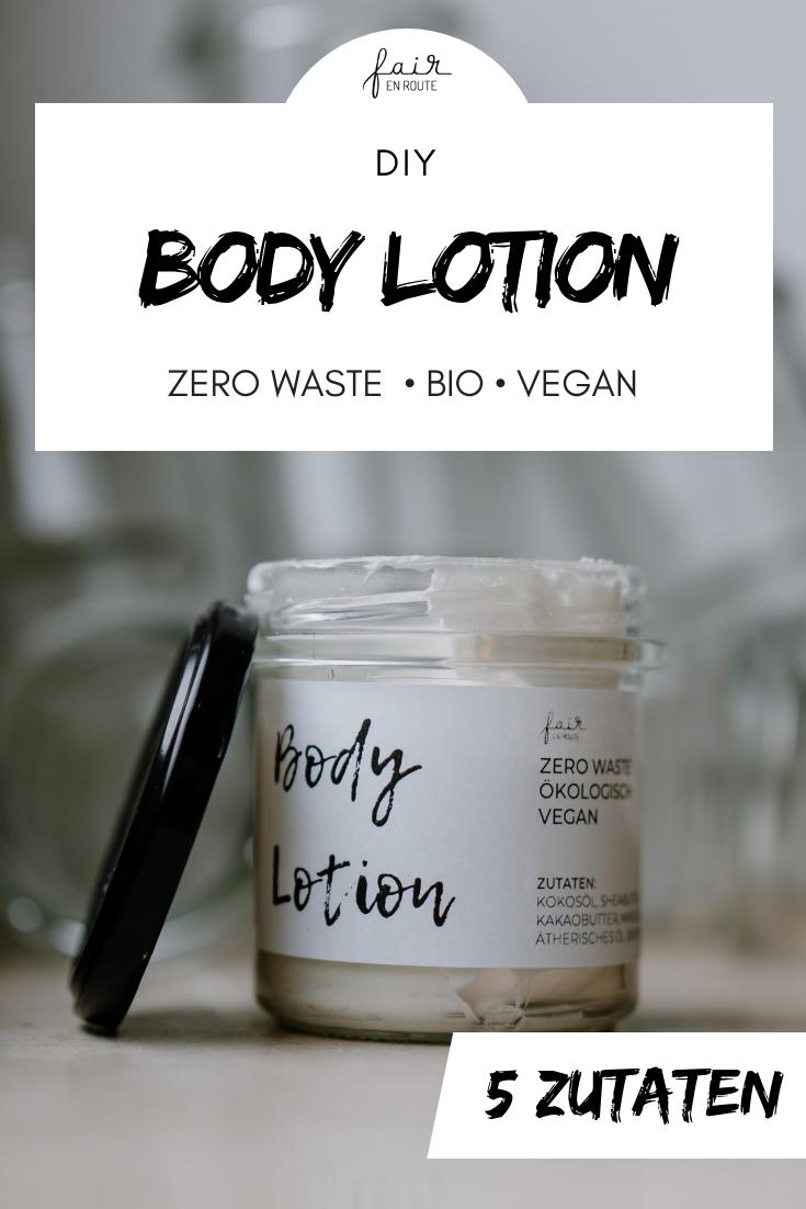#DIY Bodylotion #eco #vegan #zerowaste #handmade