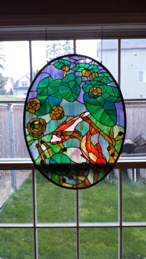 Chantel Pare Koi Window by Melissa Gilfillan