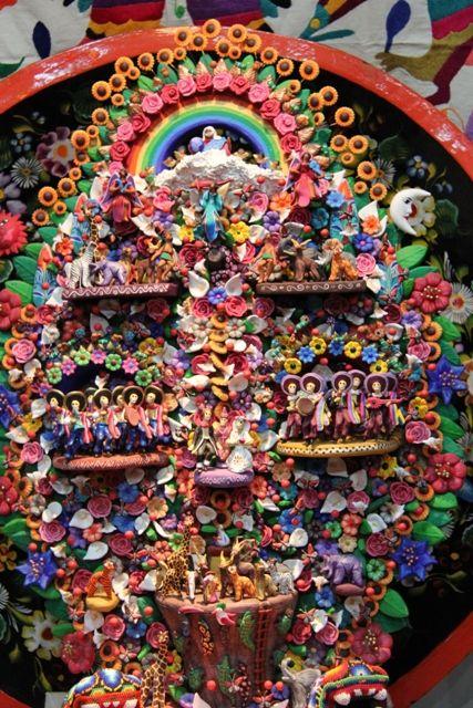 Flores De Papel Mexicanas As Flores De Papel Colorido São Usadas