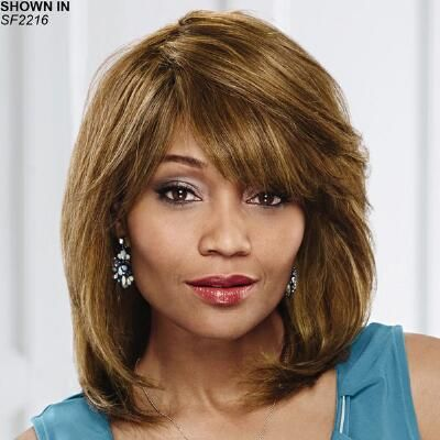 Hilary Human Hair Wet 'n' Wavy Wig by Especially Yours                                              - Especially Yours