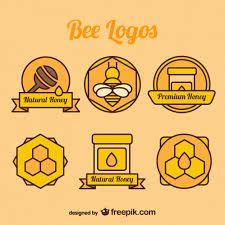 Картинки по запросу шаблоны этикеток с пчелами | Пчела ...