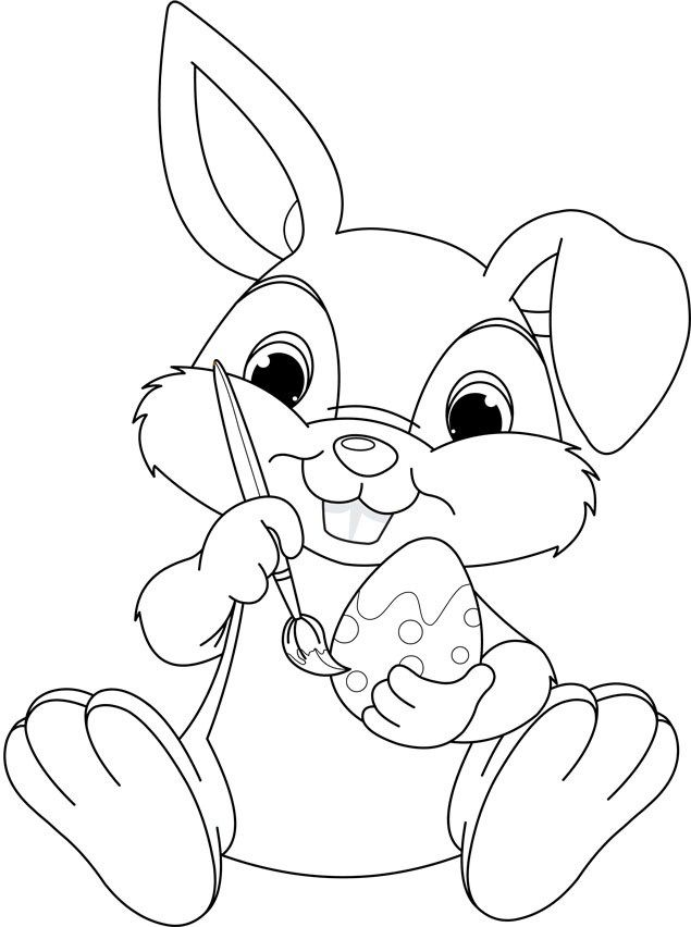 Toddler-friendly Easter colouring templates to download and print ...
