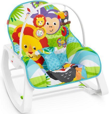 Fisher Price Infant To Toddler Rocker Green Walmart Exclusive