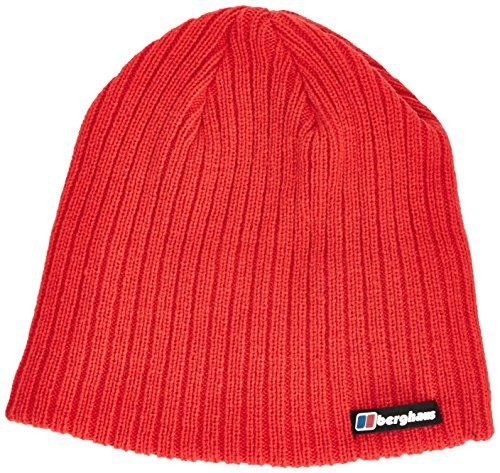 d3008a5b Berghaus Men's Ribbed Beanie - Extreme Red, One Size Berghaus http://www