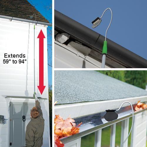 Extension Gutter Cleaner Get Organized Gutter Cleaner Outdoor Essentials Home Storage Solutions