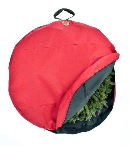 Santa's Bags Premium Christmas Wreath Storage Bag with Direct-Suspend Handle TreeKeeper http://www.amazon.com/dp/B007PT8VOQ/ref=cm_sw_r_pi_dp_4wpCub1721BXG