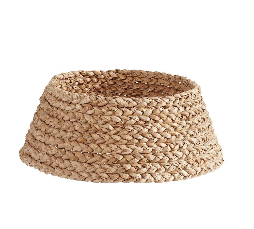 Basket Tree Collar Tree collar, Wall candle