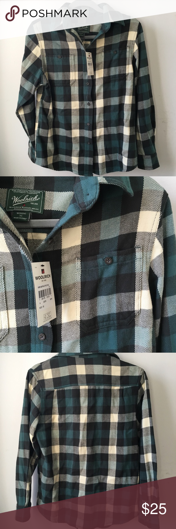 Flannel shirt ideas  NWT plaid button down flannel shirt  Flannel shirts Flannels and Plaid