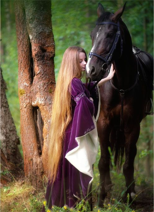 Maiden and Horse