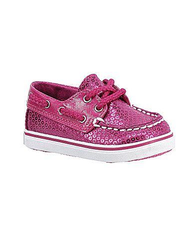0782bcf6c550 Sperry TopSider Infants Bahama Sequin Crib Shoes  Dillards