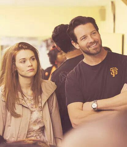 Holland Roden and Ian Bohen