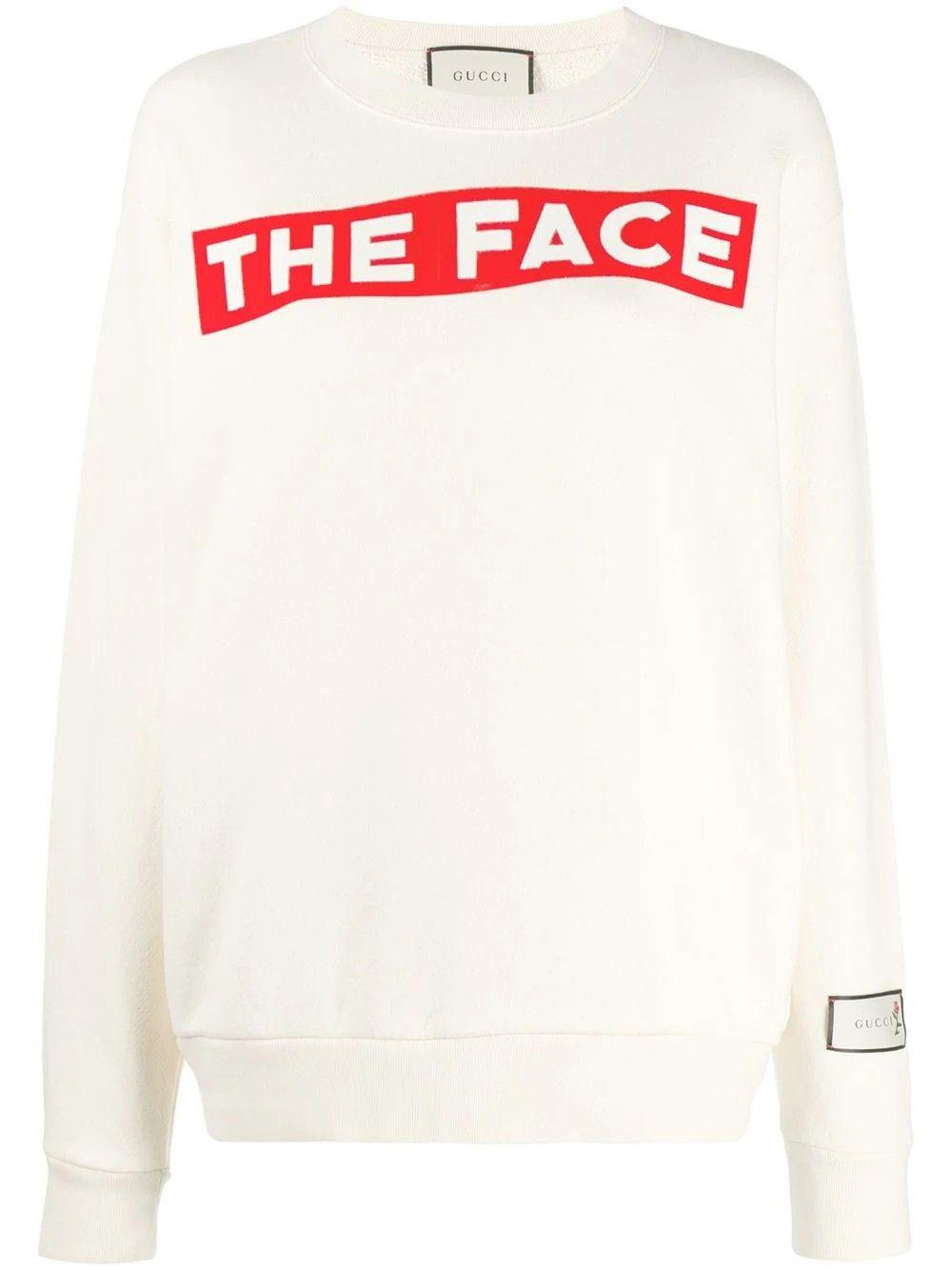 Gucci The Face Print Sweatshirt En 2021 Ropa [ 1334 x 1000 Pixel ]