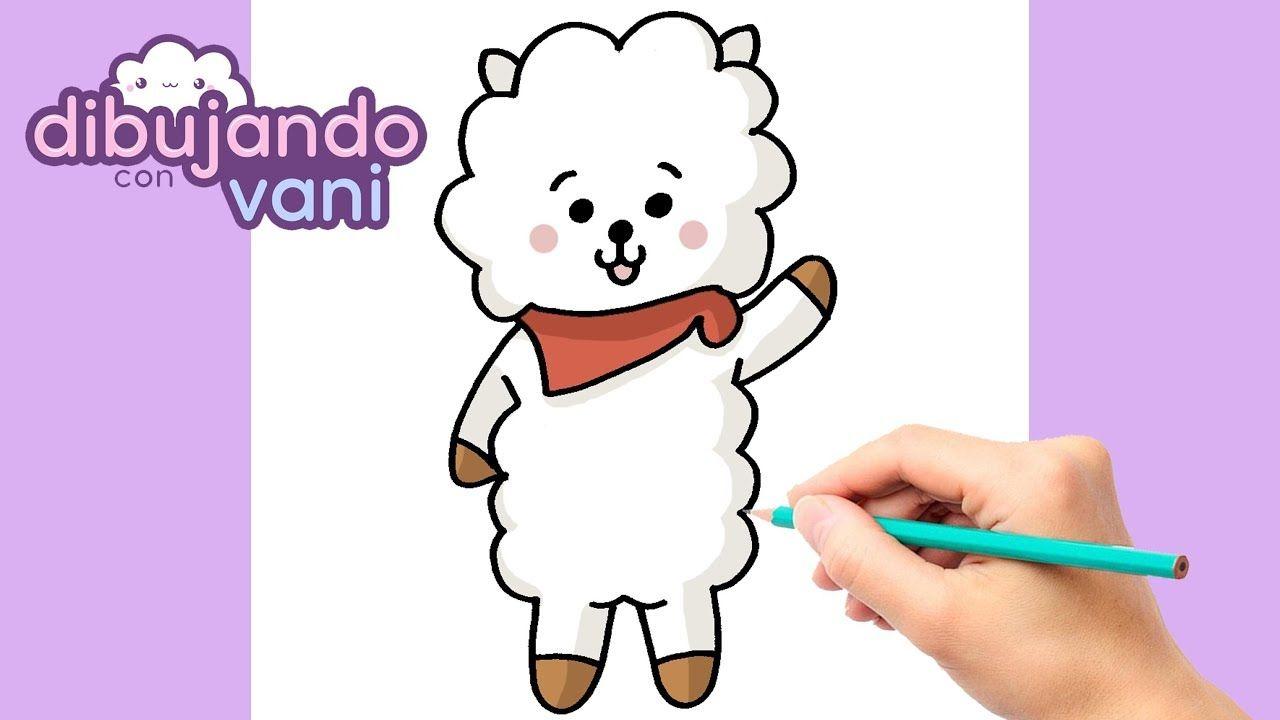 Como Dibujar Rj Bt21 Kawaii Dibujos Imagenes Faciles Anime Para Colore Kawaii Como Dibujar Kawaii Como Dibujar