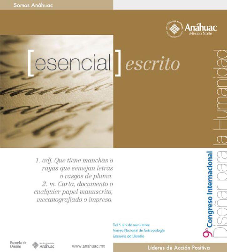 Diseño Anáhuac es escrito...
