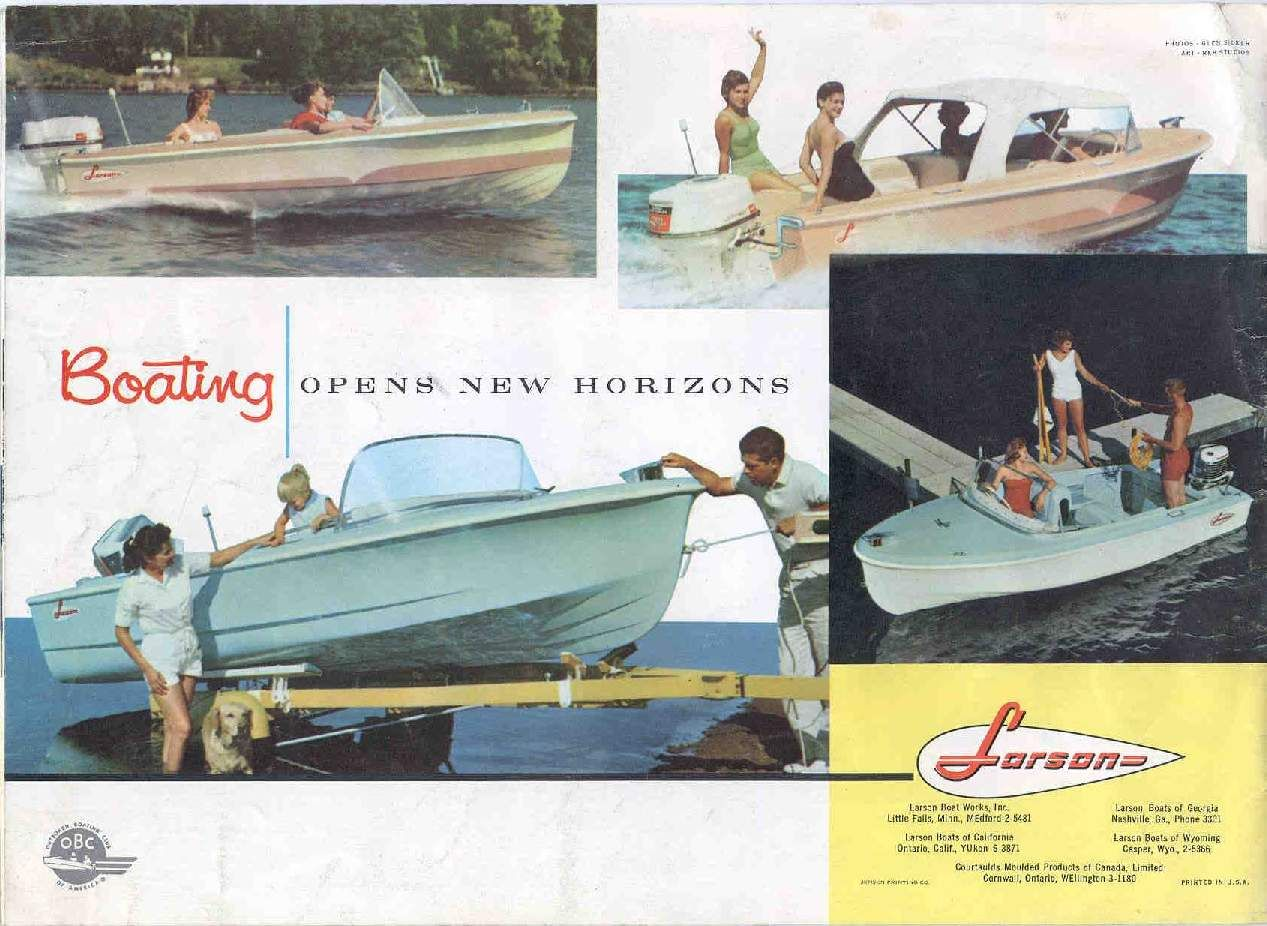 1960 Larson Boat All American Runabout Classic Boats Boat