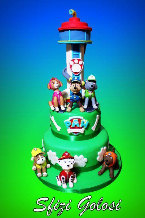 Torta paw patrol pinterest santiago juego y fiestas