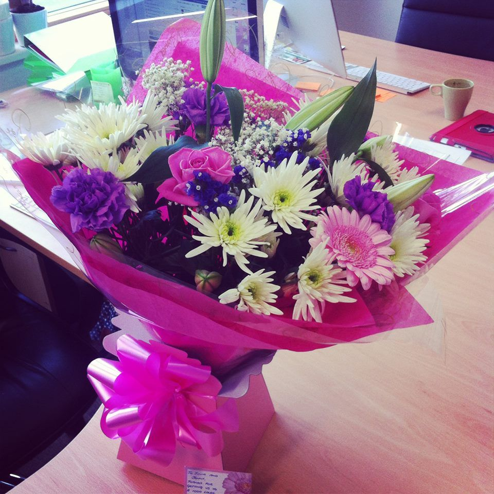 A massive Thank you to Jobwise  for their beautiful bouquet they have sent us!