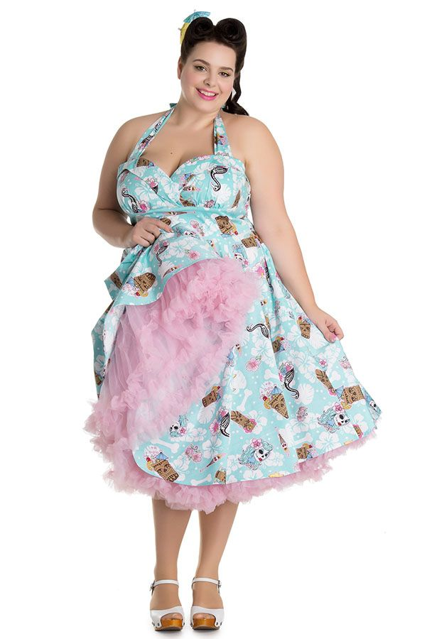 54deb14b4ee Plus Size Pin Up Fashion from Hell Bunny. Sizes 2x-4x.