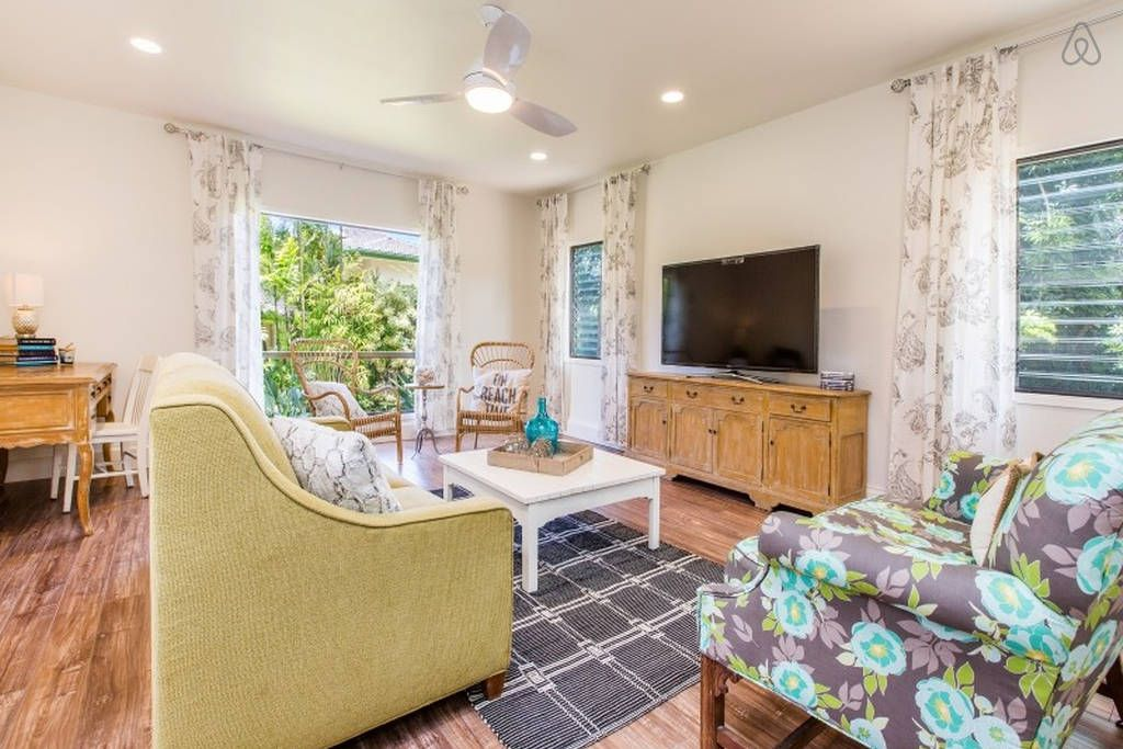 Check out this awesome listing on Airbnb: Newly Renovated Princeville Home in Princeville