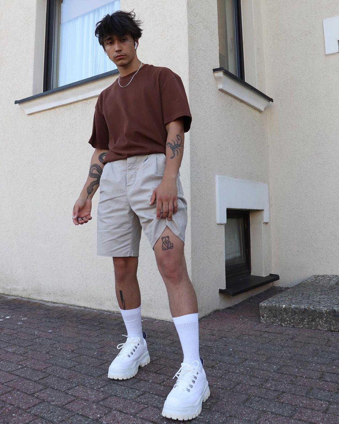 Photo of Classy Men Streetwear w/ Tattoos