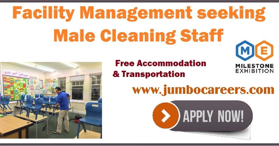 Cleaning Staff Jobs in Dubai with Free and