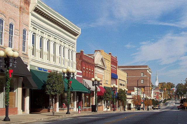 Main St Union Sc Looking East South Carolina Travel Great Places South Carolina