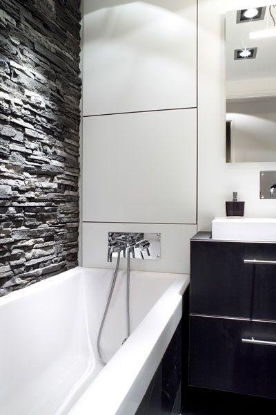 Rivestimenti in pietra nel bagno 20 esempi bellissimi a cui ispirarsi bathroom id e - Bagni bellissimi moderni ...
