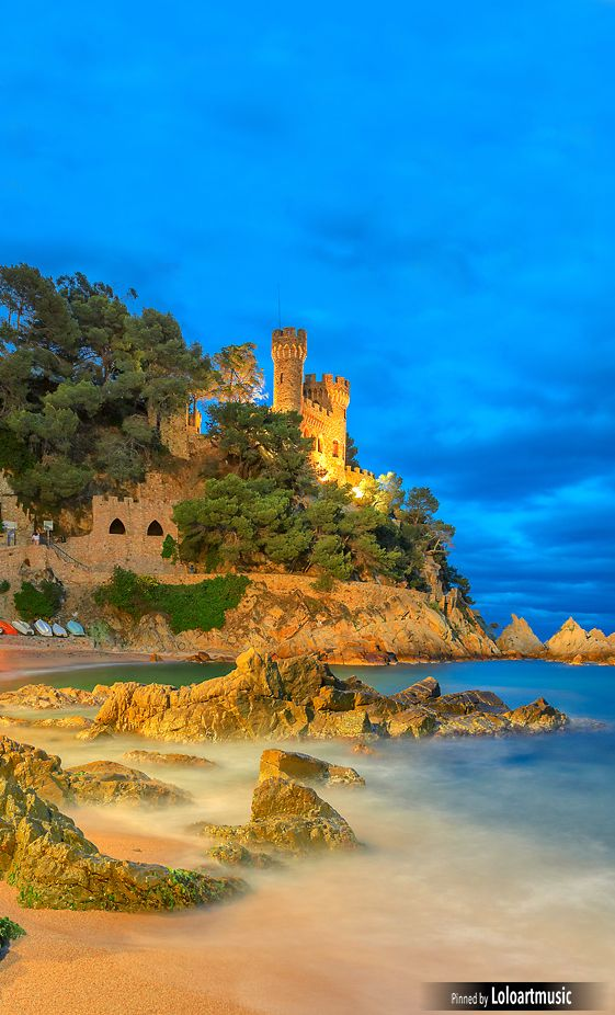 San Juan Castle Lloret De Mar Spain Favorite Pics Of Places