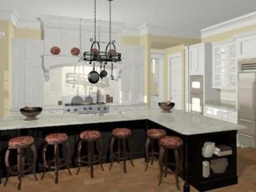 Image Of Modern L Shaped Kitchen Island  Kitchen  Pinterest Prepossessing L Shaped Kitchen Island Decorating Inspiration