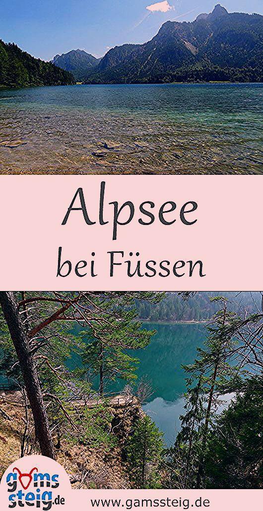 Wandern am Alpsee bei Füssen