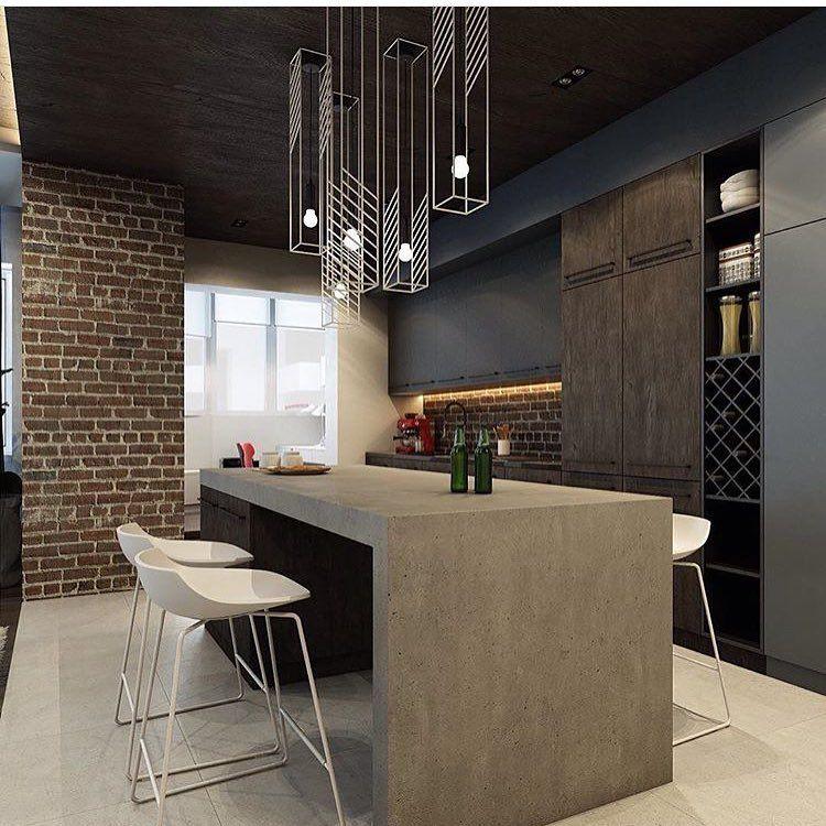 O que acham dessa mesa de concreto? via: A Designers Mind ...