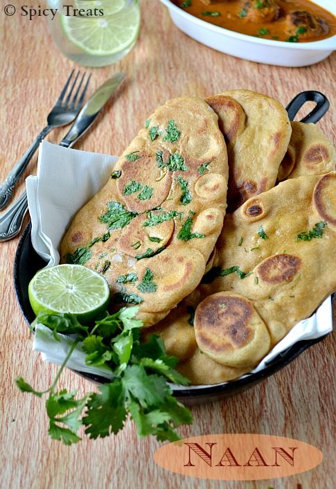 Naan / Naan Recipe Without Yeast / Naan Using Multi Grain ...