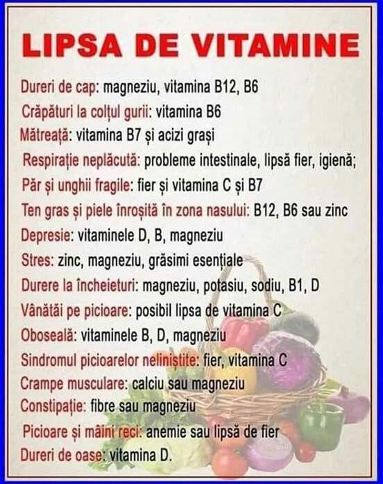 varicoză și vitamine)