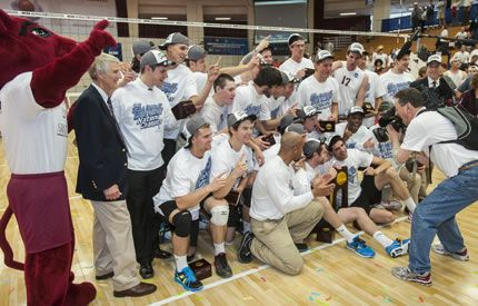 Springfield College Men S Volleyball Feature On Cbs Sports Network Springfield College Mens Volleyball Cbs Sports