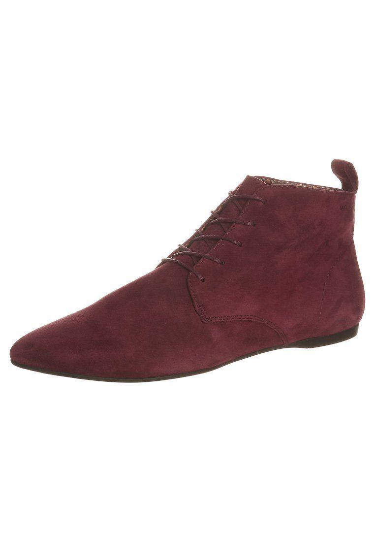 Vagabond - LEROC - Snørestøvletter - rød
