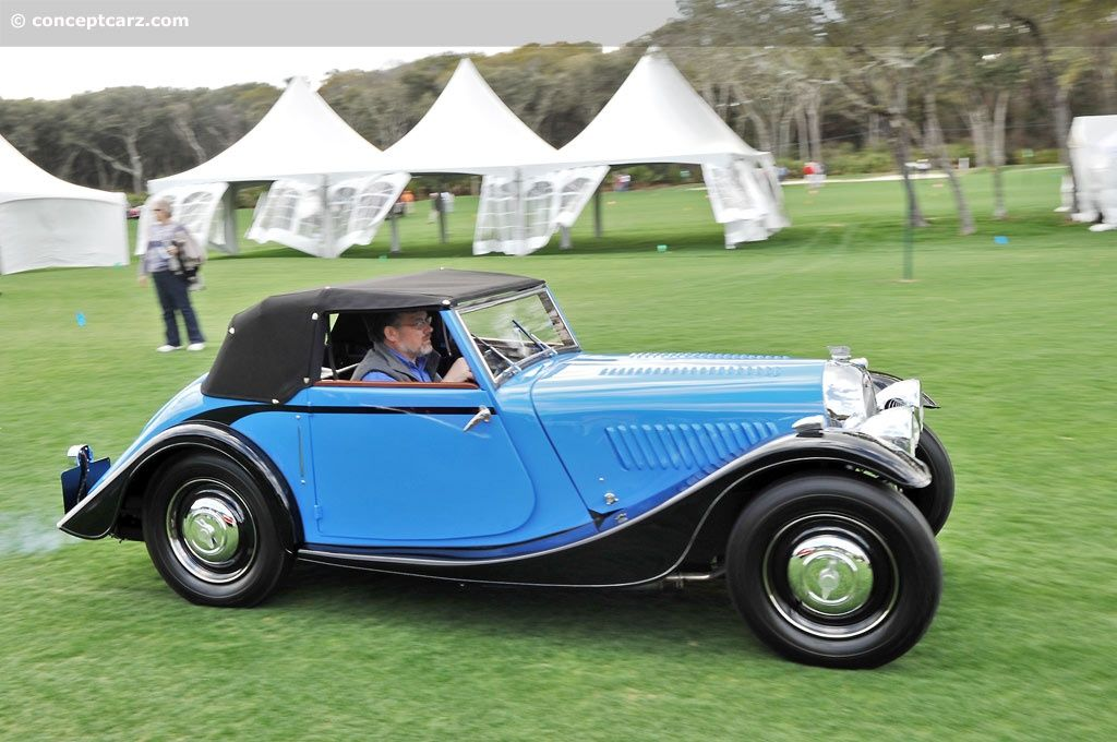 1938 Morgan Avon Coupe Prototype Image