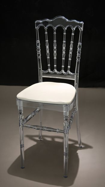 Marvelous Napoleon Ice Chair  Another Option As Both The Ceremony And Reception Chair