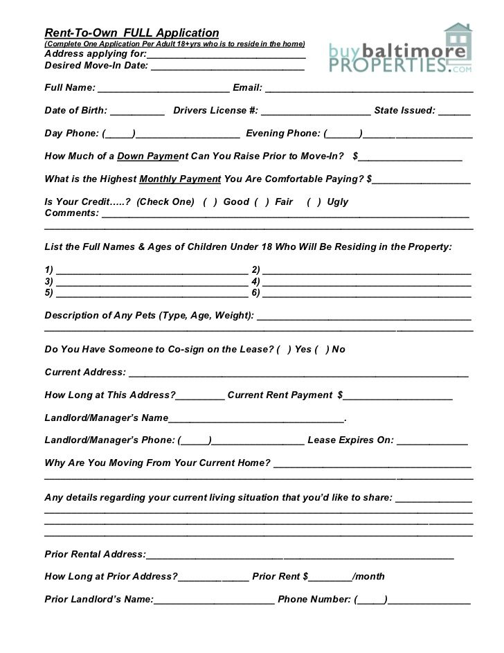 Printable Sample Rental Verification Form Form Real Estate Forms - rent to own contract sample