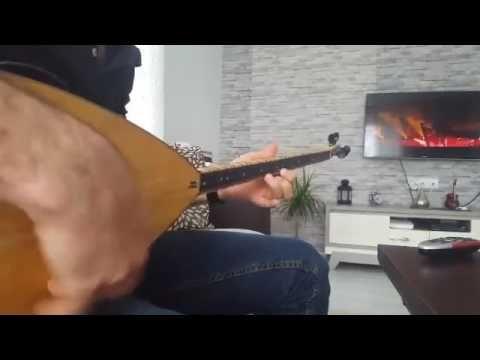Aleyna Tilki Cevapsiz Cinlama Baglama Cover Tilki