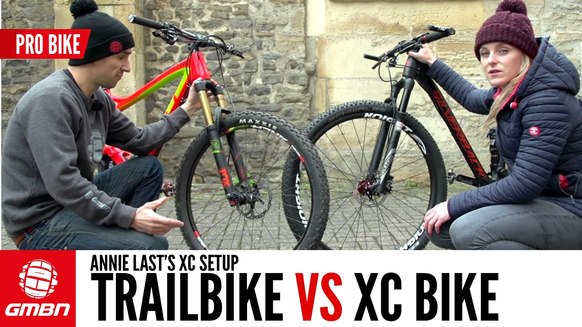 Trail Bike Vs Xc Bike With Annie Last Video Mountain Bike