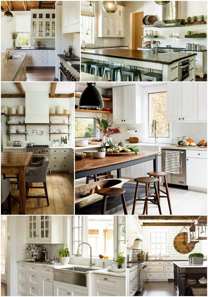 Home Decor: White Kitchen Inspiration Board - How To ...