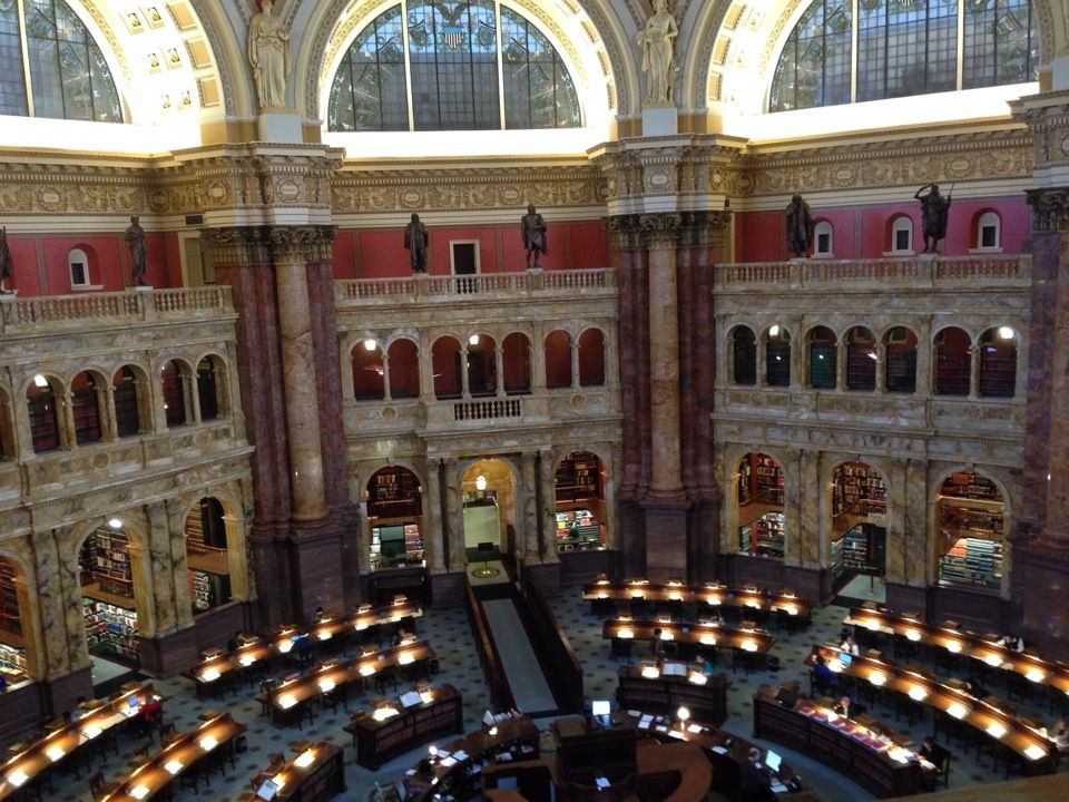 Library Of Congress Main Reading Room Reading Room Library Of Congress Library