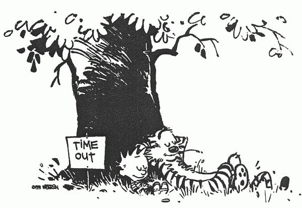 Taking A Break | Calvin and hobbes, Art, Artist inspiration